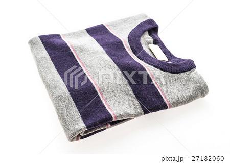 Wool Sweater shirt and clothingの写真素材 [27182060] - PIXTA