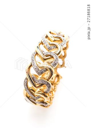 Gold braceletの写真素材 [27186818] - PIXTA
