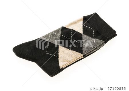Pair of sock isolatedの写真素材 [27190856] - PIXTA