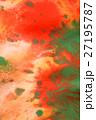 Warm background red, yellow, orange ink spot   27195787