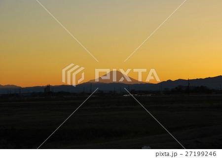 桶川市からの富士山 27199246