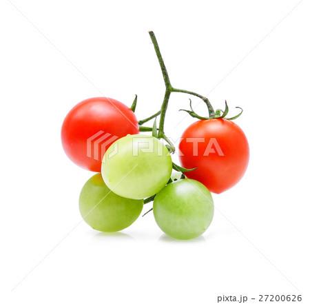Tomato isolated on white backgroundの写真素材 [27200626] - PIXTA