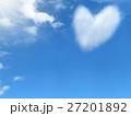 ハート形の雲 27201892
