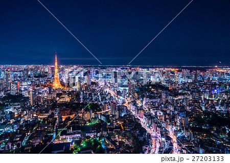 東京夜景 27203133