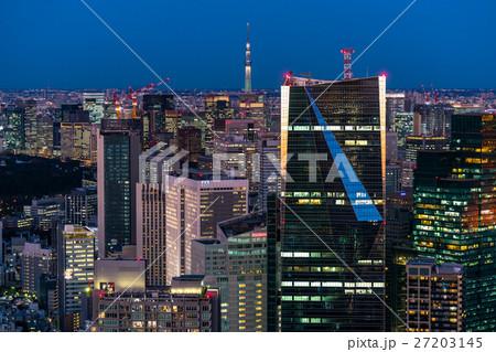 東京・トワイライト夜景 27203145