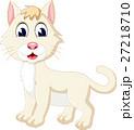 illustration of Cute cartoon cat 27218710