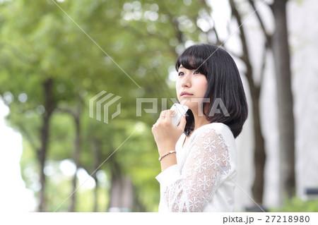 若い女性 ポートレート 27218980