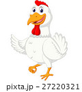 illustration of cute chicken cartoon 27220321