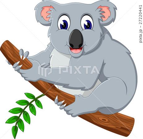 illustration of cute koala cartoon 27220441