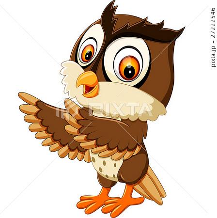 Illustration of cute owl cartoon 27222546 pixta illustration of cute owl cartoon voltagebd Image collections