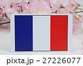 国旗 春 桜 27226077