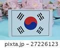 国旗 春 桜 27226123