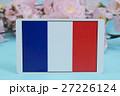 国旗 春 桜 27226124