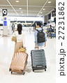 空港 スーツケース 旅行の写真 27231862