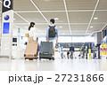 空港 スーツケース 旅行の写真 27231866