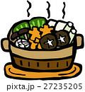 鍋 鍋料理 料理のイラスト 27235205