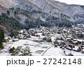 白川郷の雪景色 27242148