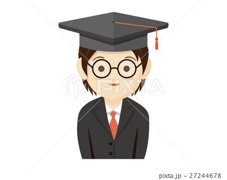 大学の卒業式 27244678