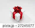 Present box with ribbon bow 27245077