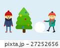 ベクトル ウィンター 冬のイラスト 27252656