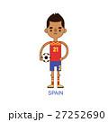 ベクトル サッカー ユニフォームのイラスト 27252690