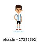 ベクトル サッカー フットボールのイラスト 27252692