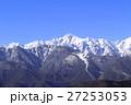 北アルプス 雪山 積雪の写真 27253053