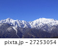 北アルプス 雪山 積雪の写真 27253054
