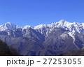 北アルプス 雪山 積雪の写真 27253055