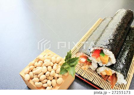 福豆と恵方巻き 27255173