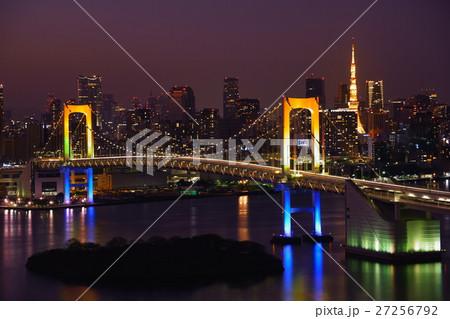 レインボーブリッジ・ライトアップ 27256792