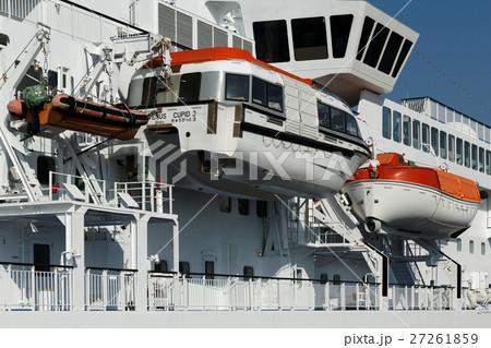 客船ぱしふぃっくびいなすの救命艇 27261859
