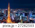 東京 東京タワー 夜景の写真 27262503