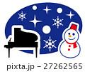 真冬のコンサート ピアノ 27262565