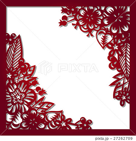 Laser cut vector template 27262709