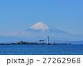 名島(菜島)の鳥居と富士山 27262968