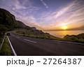 生月島のサンセットウェイと夕陽 27264387