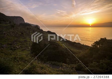 生月島からの夕陽 27264388