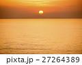 生月島から沈む夕陽 27264389