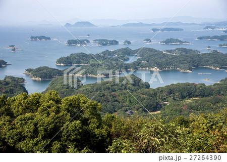 石岳より九十九島と海 27264390