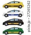 タクシー TAXI 自動車のイラスト 27265262