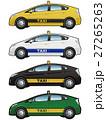 タクシー TAXI 自動車のイラスト 27265263