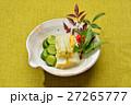 お正月風盛り付けの「お漬け物(白菜、キュウリ)」。 27265777