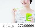 若い女性(歯磨き) 27266669