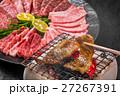 高級和牛で焼肉  Japanese beef roasted meat set 27267391