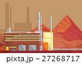 工場 製造所 ベクトルのイラスト 27268717