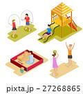 Isometric Playground Icon Set  27268865