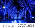 青の洞窟 イルミネーション 渋谷の写真 27271034