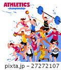 Colorful Sport Isometric Poster 27272107