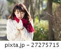 女性 コート 冬の写真 27275715